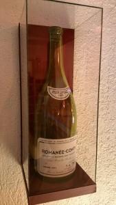 boîtage pour une bouteille de vin