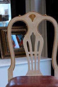 chaise de style chippendale