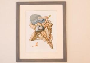 lithographie originale de Dali
