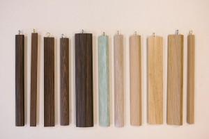 moulures en bois brut