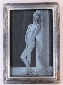 pastel de femme nue